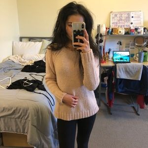 Forever 21 Baby Pink Sweater